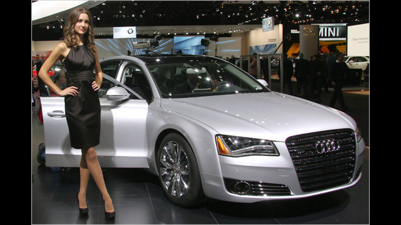 Nochmal Audi: Der scheint ja beliebt zu sein