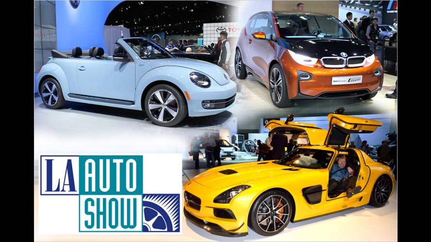 Deutsche Neuheiten auf der Los Angeles Auto Show 2012