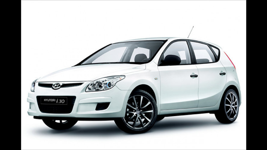 Weißer Kompakter: Hyundai i30 ,White Edition