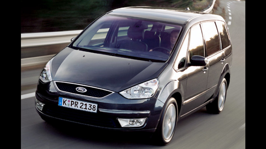 Ford Galaxy: Mehr Ausstattung in der Titanium-Version