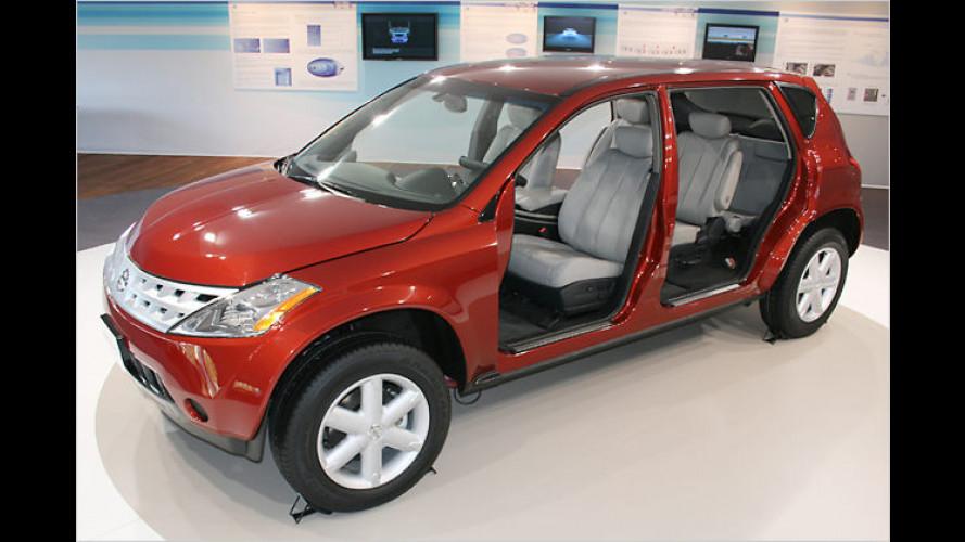 Nissans Draht-Murano: Kabel statt Mechanik