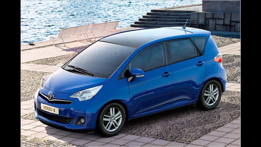 Toyota zeigt in Paris den Minivan Verso-S