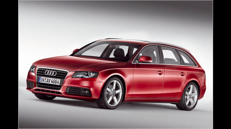 Audi A4 Avant: Der Kombi wird länger, sicherer und leichter
