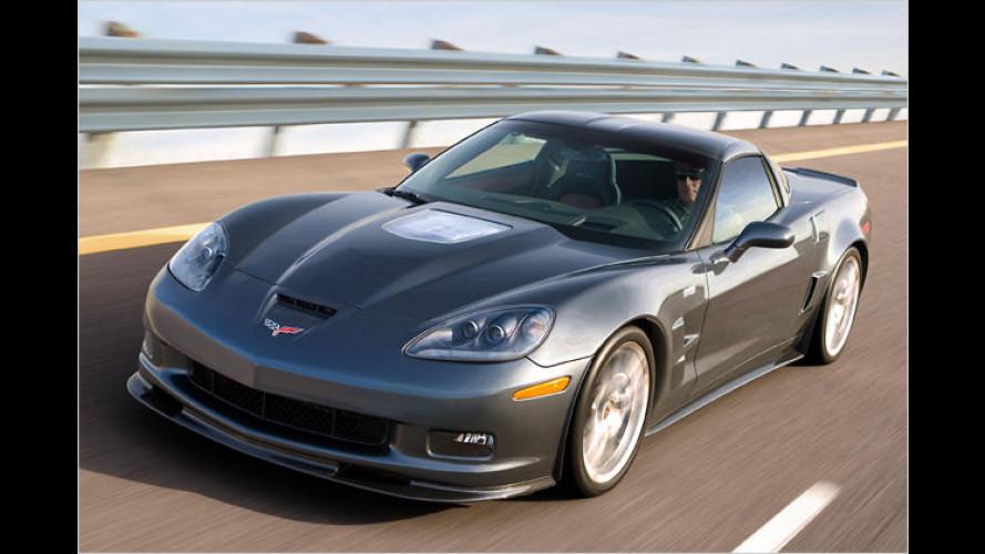Jetzt offiziell: Corvette ZR1 bekommt 647 PS Leistung