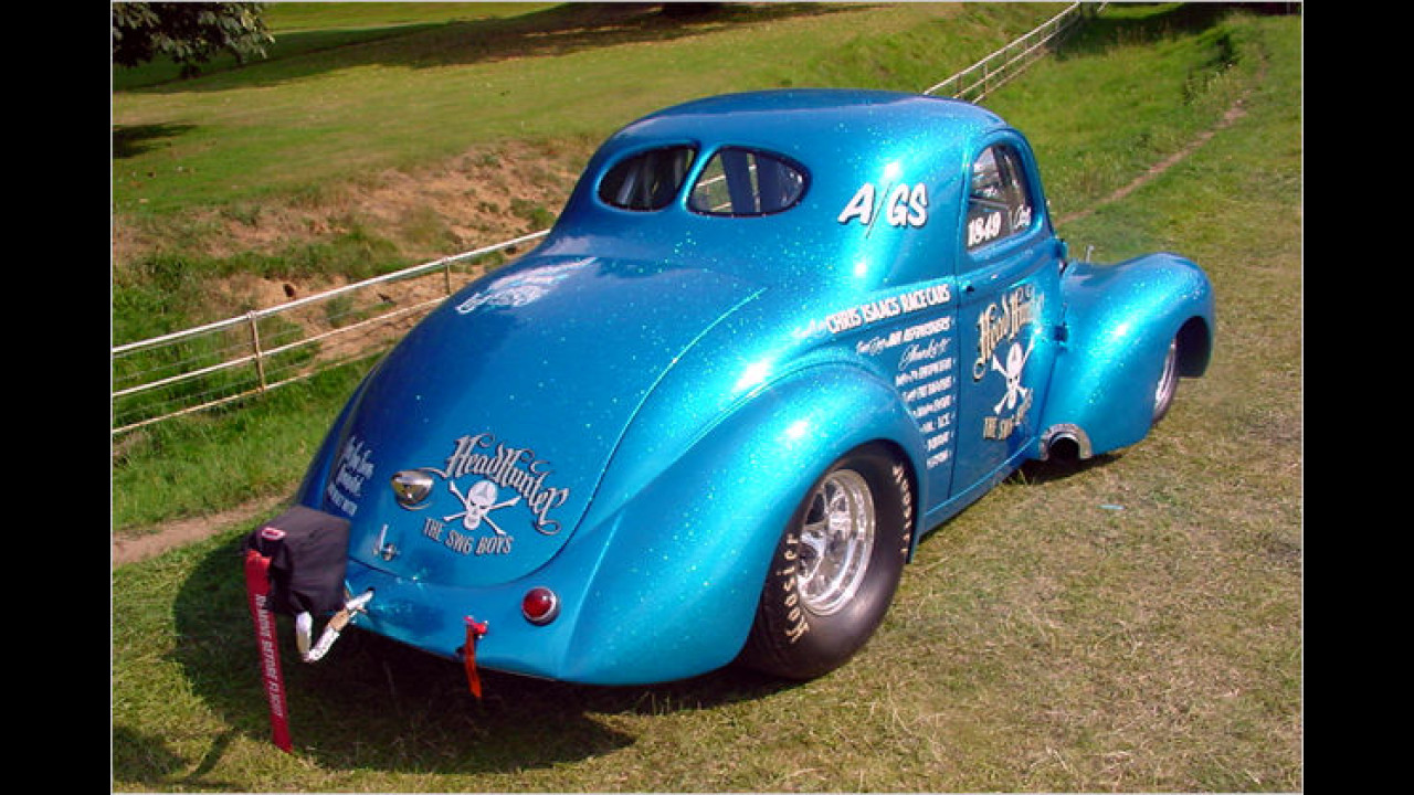 Custom Cars: 1941 Willys Coupé