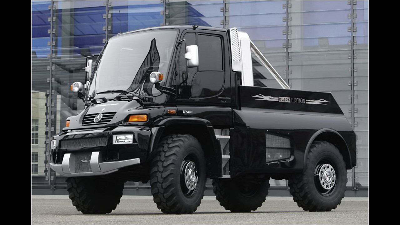 Unimog Black Edition
