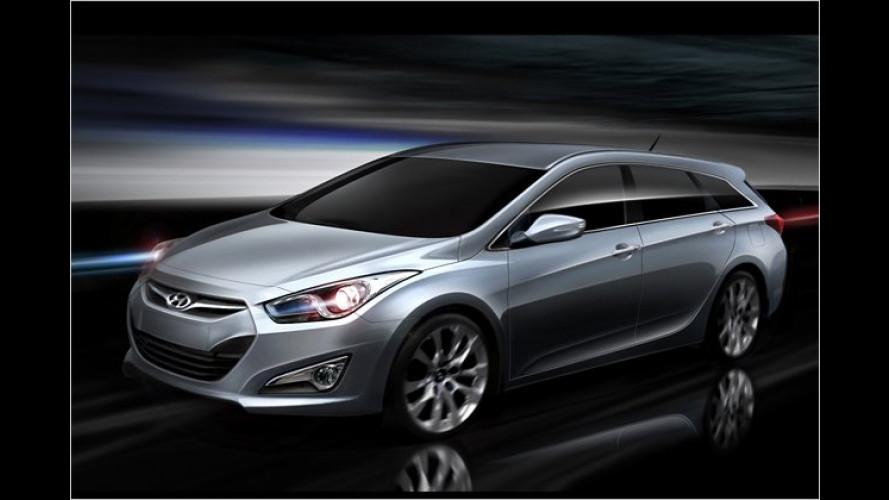 Hyundai i40: Erste Bilder von der neuen Korea-Mittelklasse