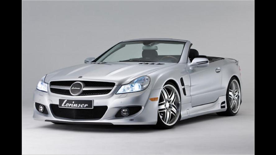 Tuner Lorinser veredelt den aktuellen Mercedes SL