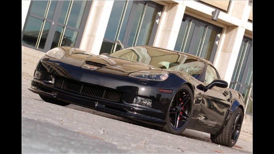 Geiger-Corvette Z06 Black Edition: Ungesättigte Vette