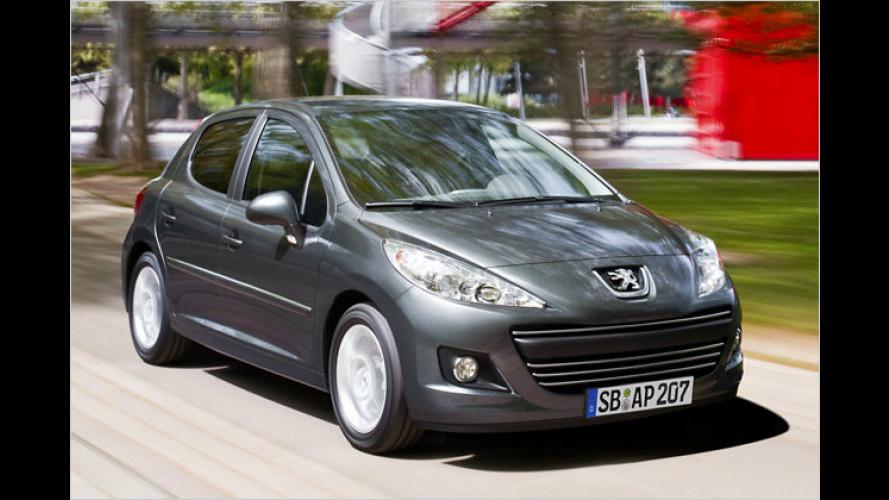 ESP für alle Peugeot 207