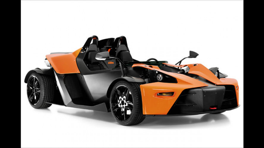 Downforce-Vielfalt: Die Modelle des KTM X-Bow