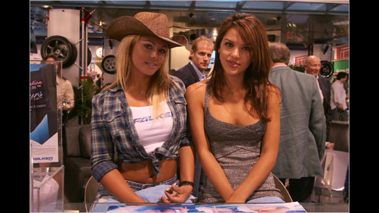 Ja stimmt, wir sind ja im Land der Cowgirls