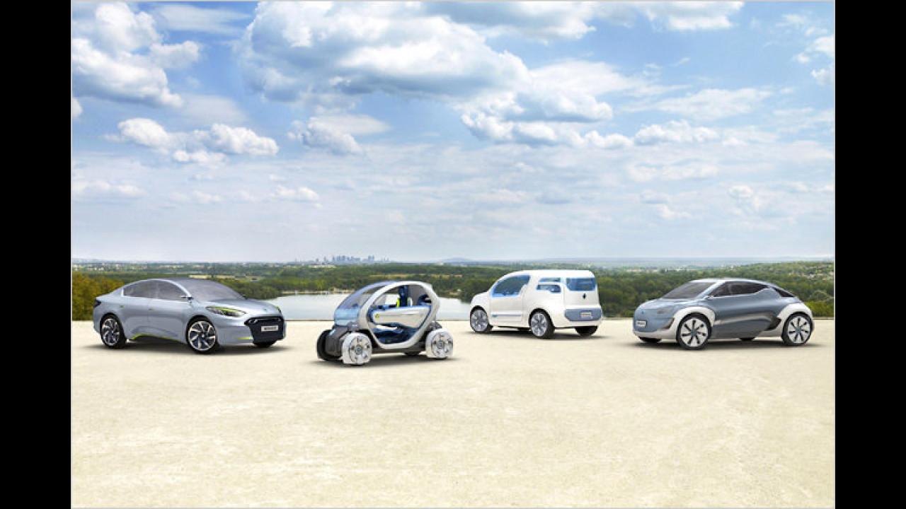 Renault Elektro-Studien