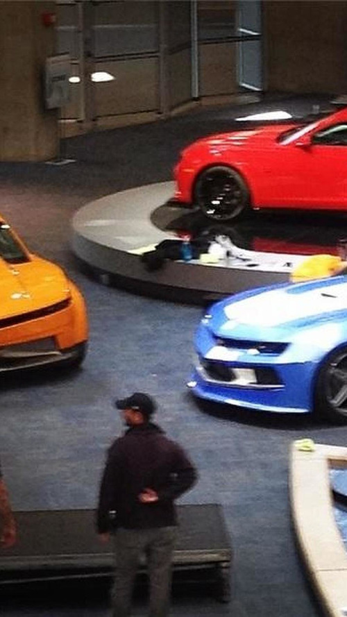 Three mysterious Chevrolet Camaros photographed, rumored to star in a TV show