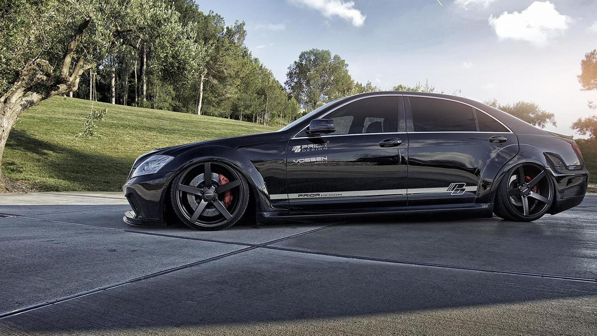 1afa868258cfeb Previous-gen Mercedes-Benz S-Class gains wide bodykit from Prior Design