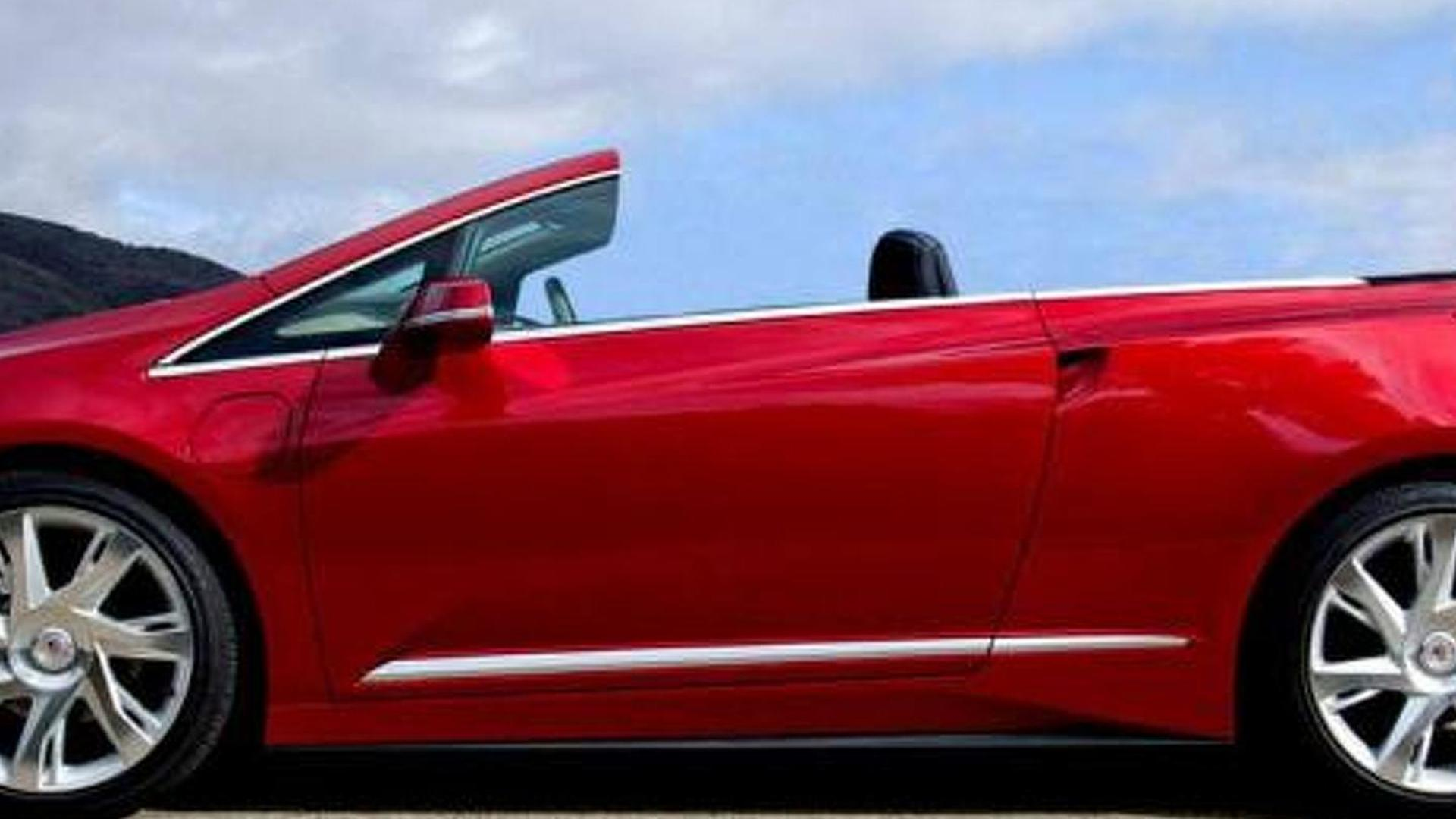 2016 Cadillac Convertible >> Nce Ready To Cut Cadillac Elr S Roof