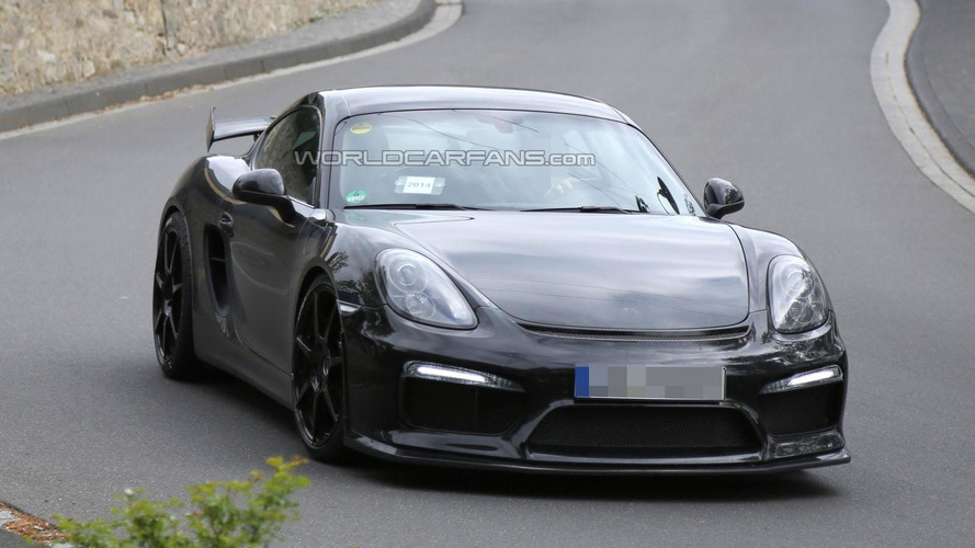 Porsche Cayman GT3 / GT4 spied once again