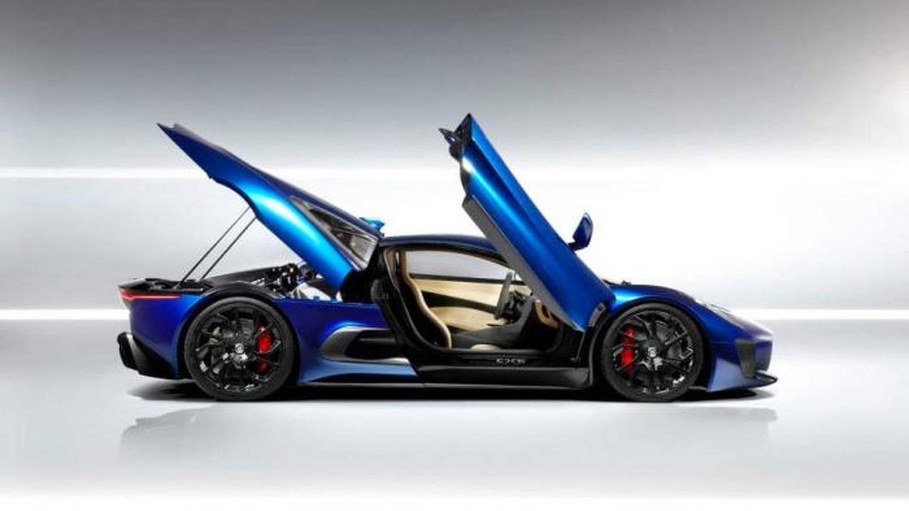 Bond filmindeki Jaguar C-X75 SPECTRE