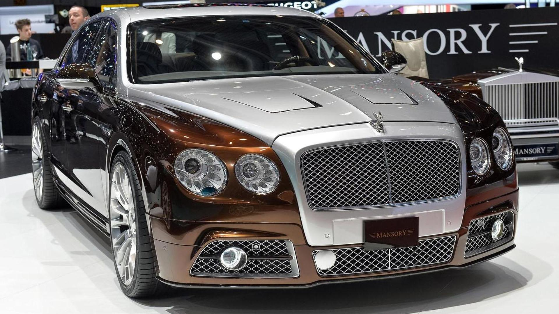 Mansory Tunes The Bentley Flying Spur To 900 Hp