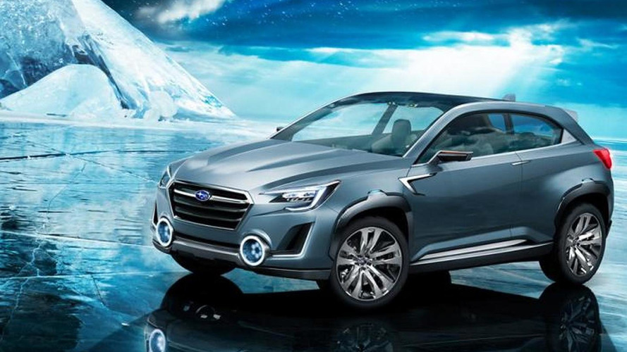 Subaru Viziv 2 Concept presents future SUV philosophy [video]
