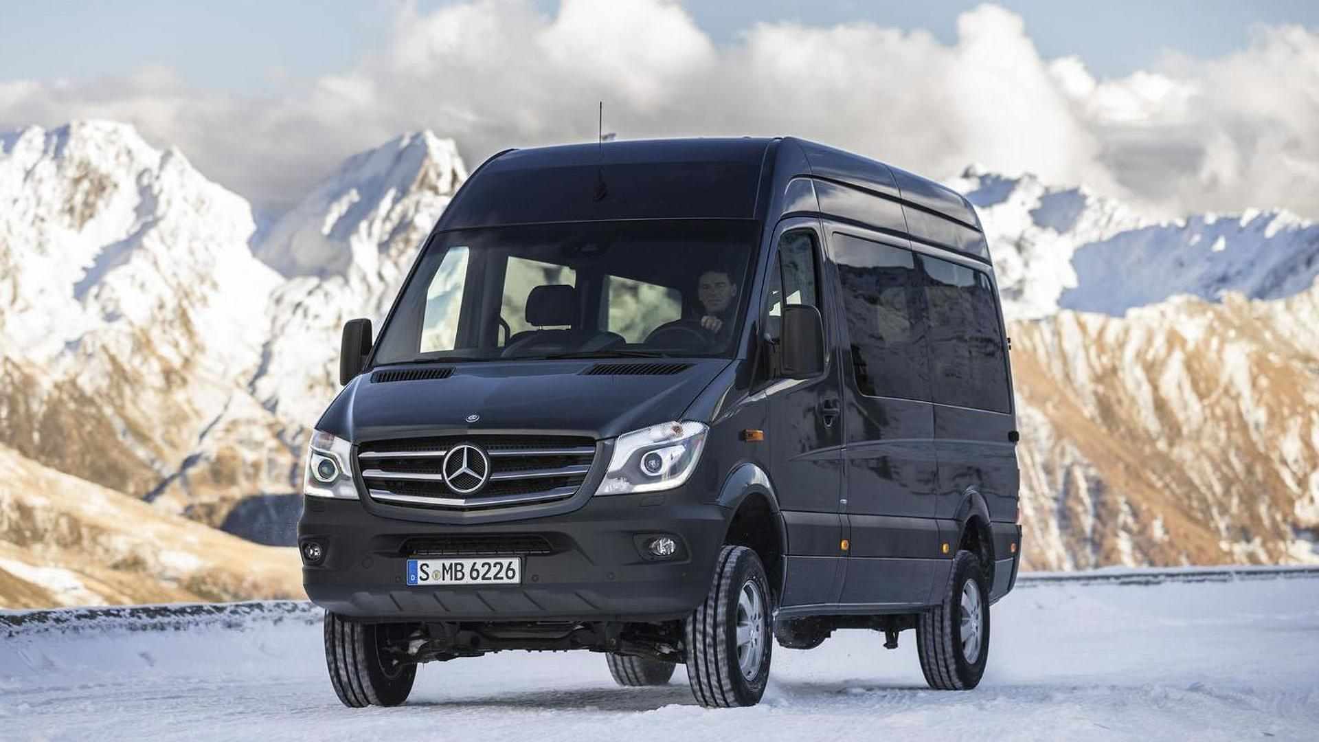 Mercedes Sprinter 4X4 >> 2014 Mercedes Sprinter 4x4 Announced Just In Time For Winter