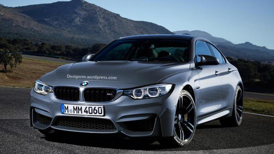 BMW M4 Gran Coupe render shows very possible look