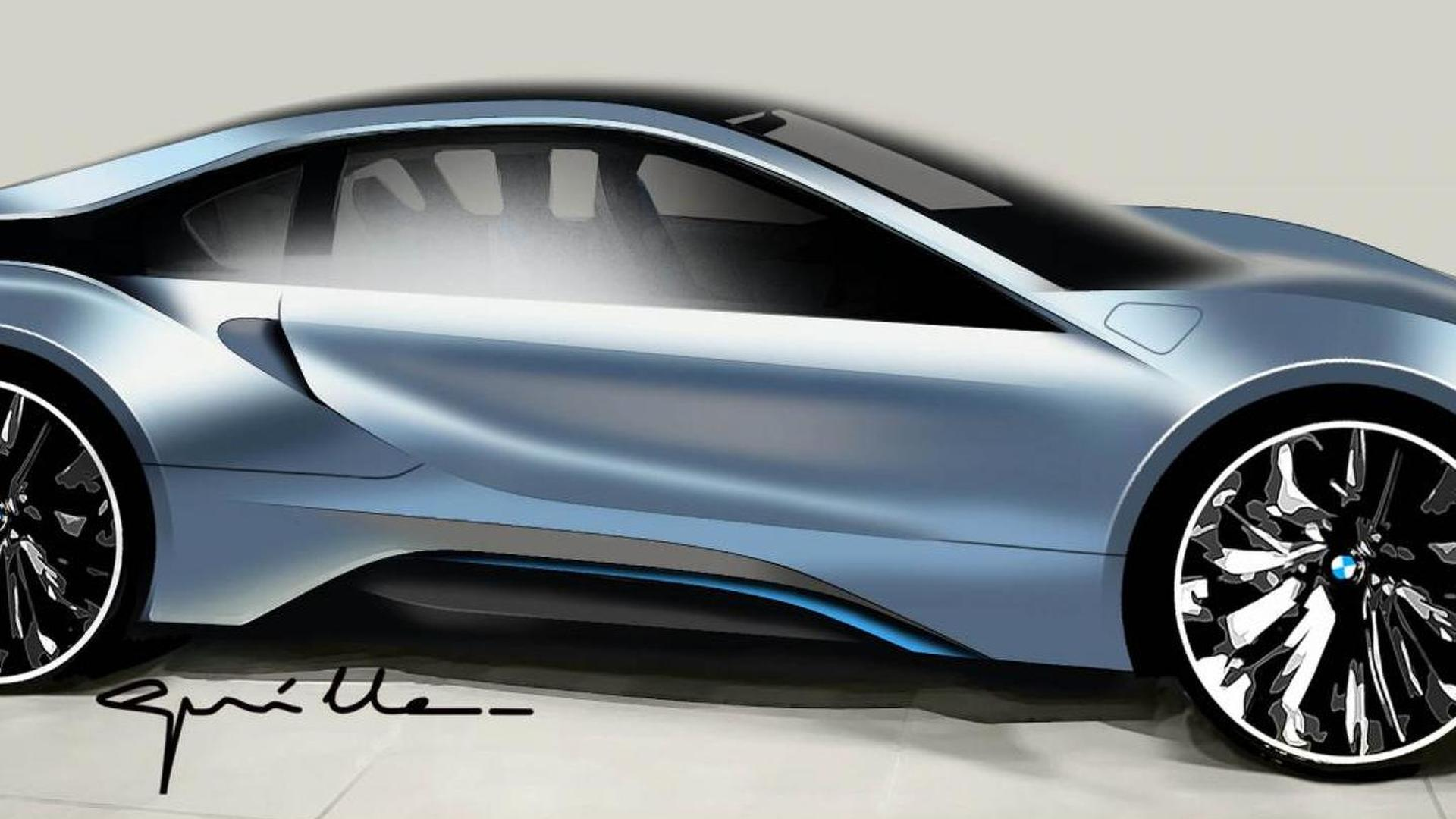 Bmw Reportedly Celebrating Centenary With Super Fast I8 Codenamed