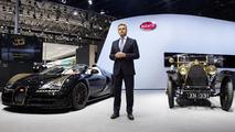 Bugatti Veyron Grand Sport Vitesse Black Bess live at Auto China