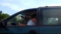 Couple caught having sex while driving on expressway