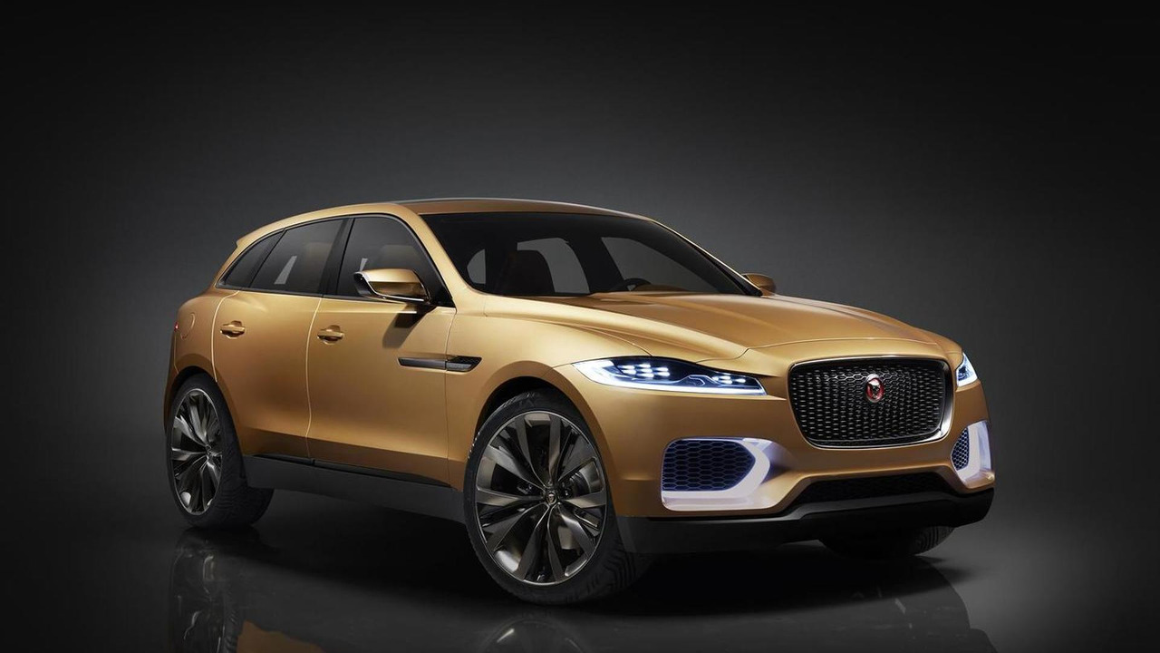 An early concept from Jaguar of what the J-Pace EV could've been.