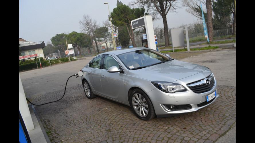 Opel Insignia 2.0 CDTI 140 CV, la prova dei consumi