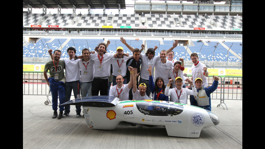 La Shell Eco-marathon Europe 2012 scende in strada