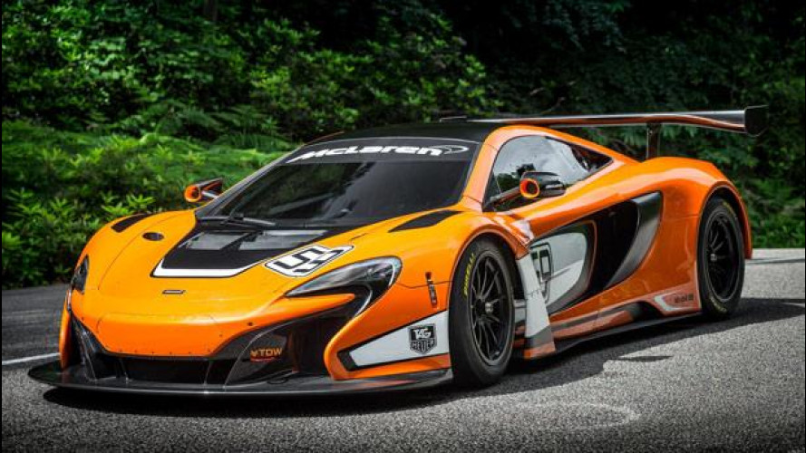 McLaren 650S GT3, pronto corse