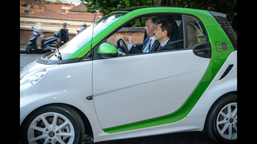 Bis di smart per il sindaco di Roma