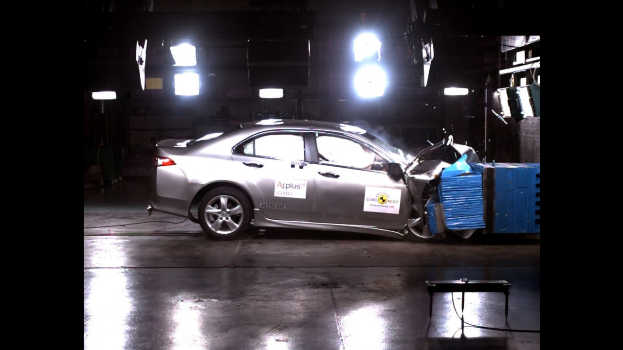 Crash Test Honda Accord