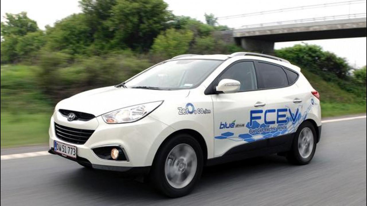 [Copertina] - Auto ad idrogeno, le prime vetture circolano in Europa