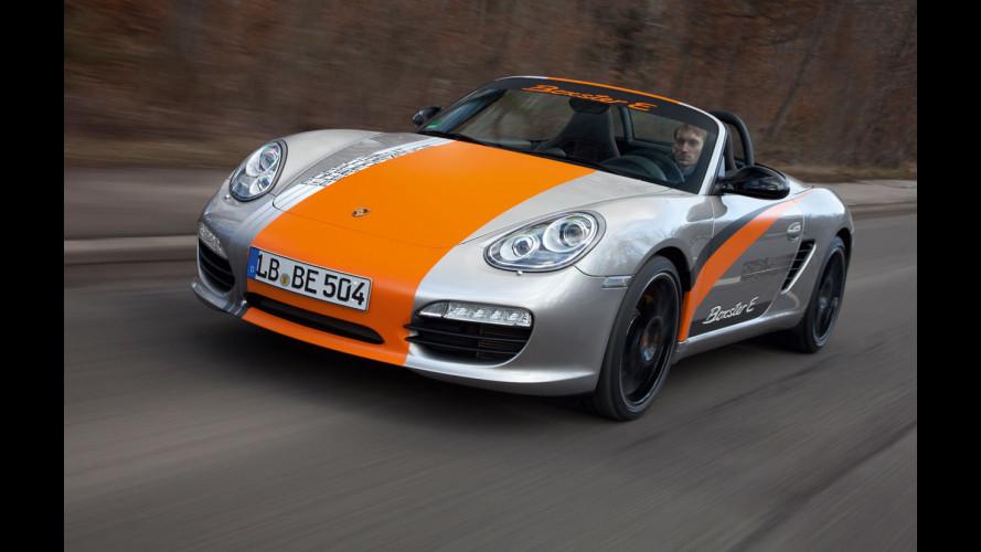 Porsche Boxster E: appuntamento con il pubblico