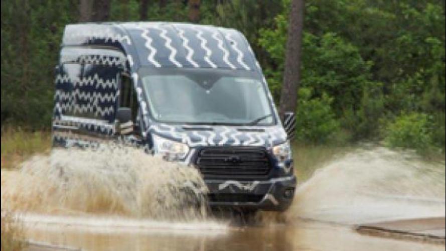 Ford, 11 milioni di chilometri di test per il nuovo Transit