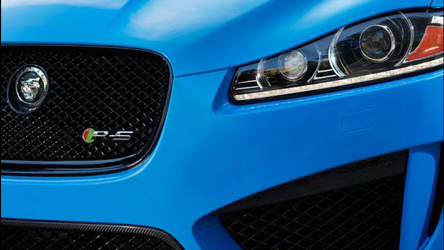 Jaguar XFR-S: debutto a Los Angeles
