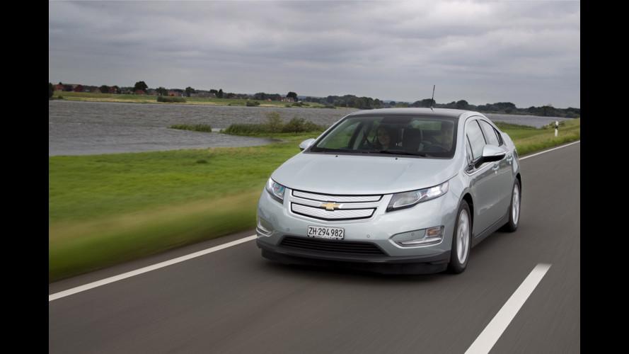 Chevrolet Volt, normalmente elettrica