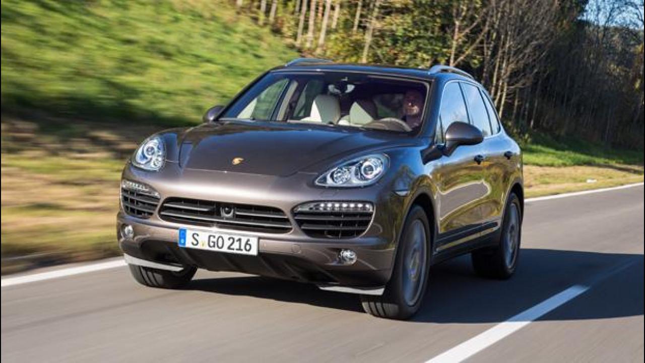 [Copertina] - Porsche Cayenne S Diesel: se questo è gasolio