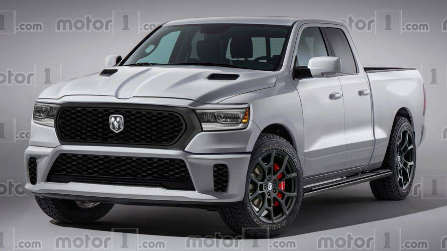 Ram May Have Hinted At A 707-HP Hellcat Pickup