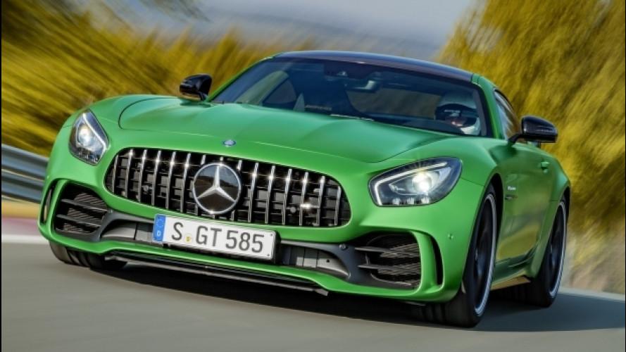 Mercedes-AMG GT R, 585 CV verdi di rabbia