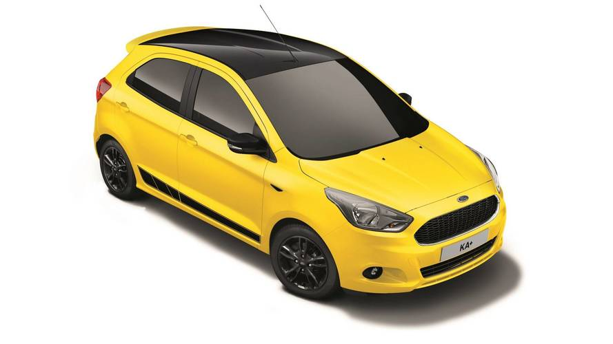 Ford Ka+ Color Edition 2017