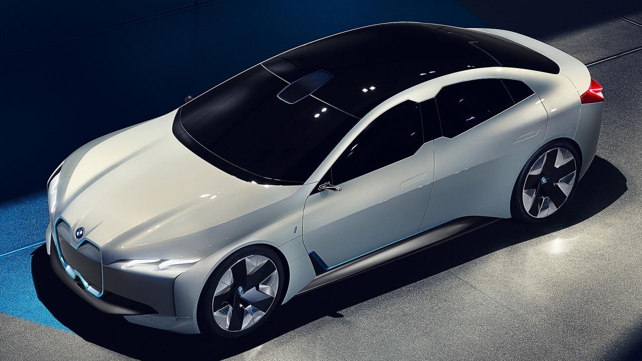 [Copertina] - Salone di Francoforte: BMW i Vision Dynamics, lusso a elettroni