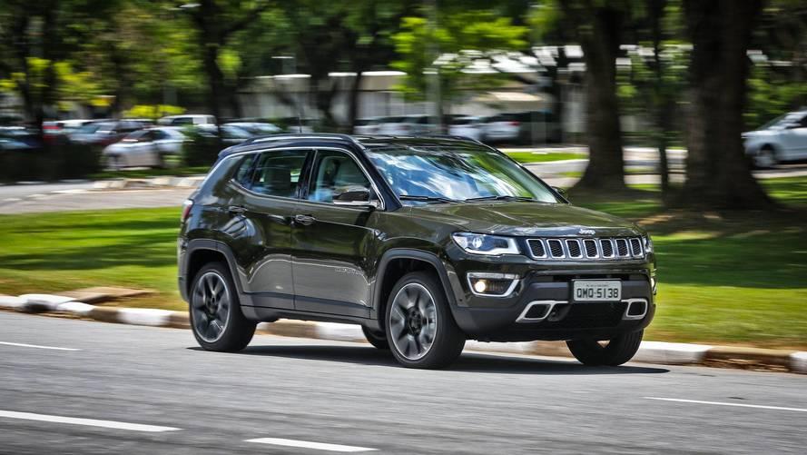 Vendas diretas em janeiro – Jeep emplaca Compass e Renegade no top 10