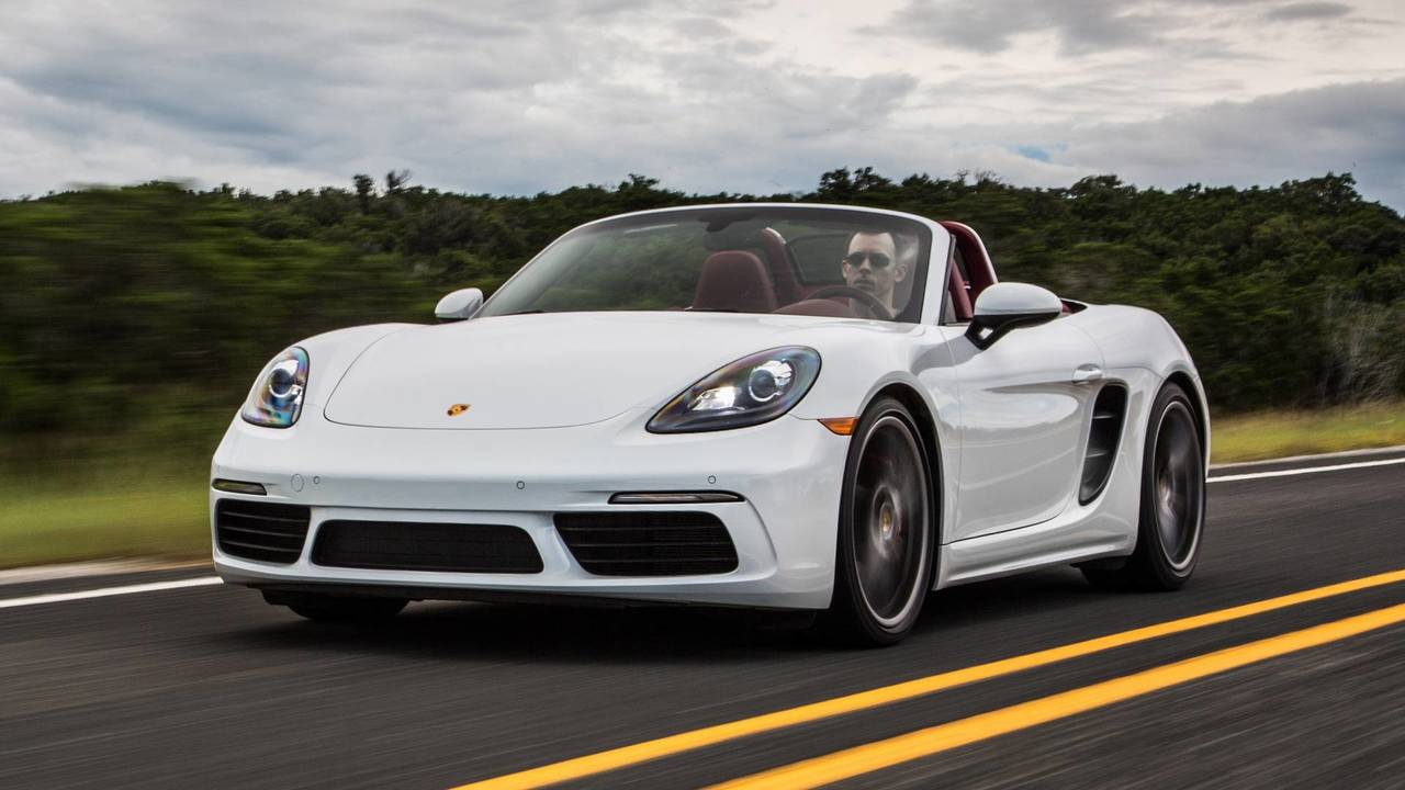 9. Porsche 718 Cayman / Boxster: 2.0L turbocharged H4, 300 hp, 280 lb-ft