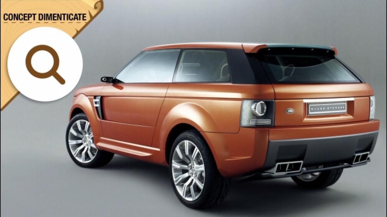 [Copertina] - Land Rover Range Stormer, il SUV coupé mai nato