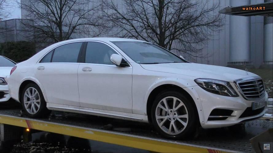 Geniş çamurluklu prototip, Mercedes S-Serisi'nin yeni jenerasyonu olabilir