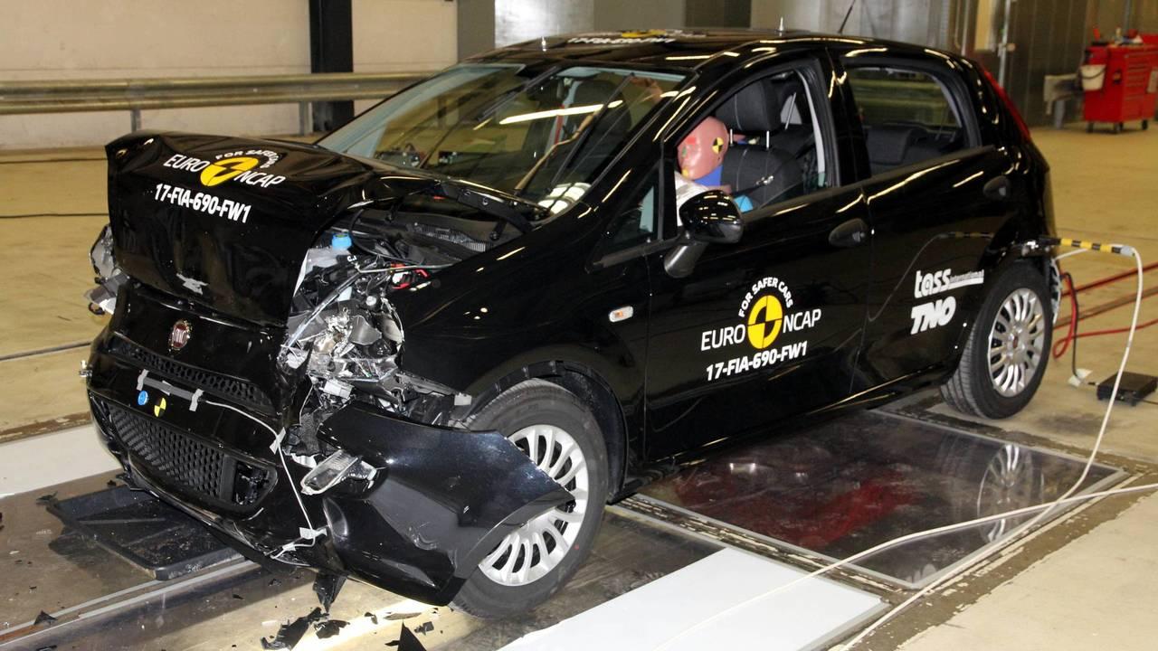 Fiat Punto Euro NCAP